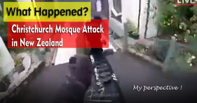 Christchurch Mosque Attack in New Zealand